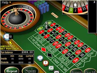 Play A Free Online Roulette Game