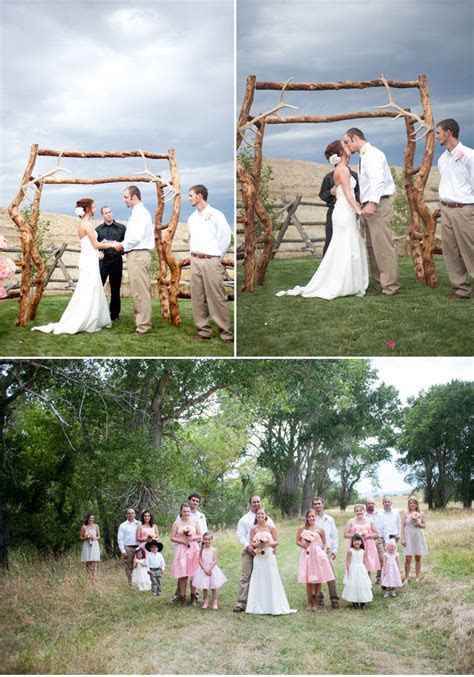 Low Cost Rustic Reception Ideas   Crafty Low  Budget