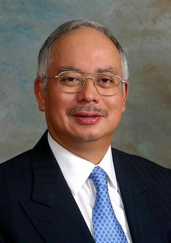 DPM Najib Razak by Najib Razak.
