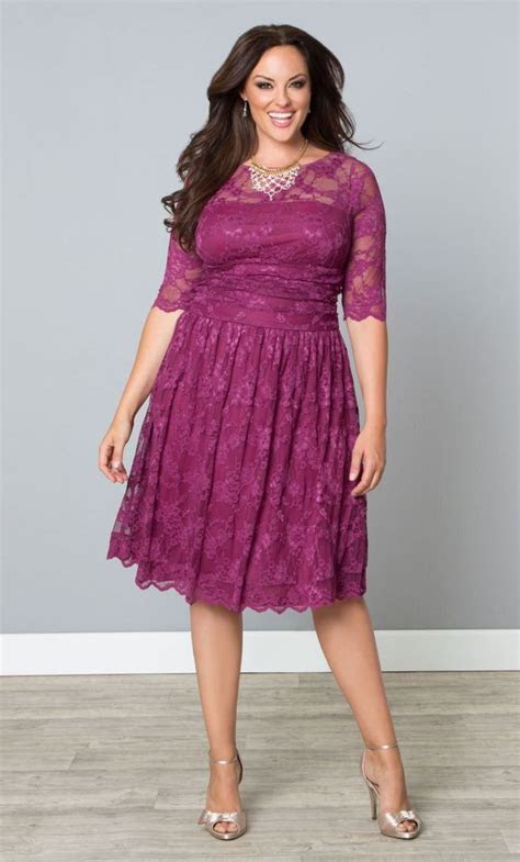 33 Plus Size Wedding Guest Dresses {with Sleeves   Dresses
