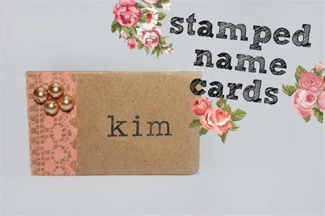 DIY VIP Table Name Cards   Weddingbee