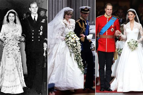 The 12 Most Influential British Royal Wedding Dresses of