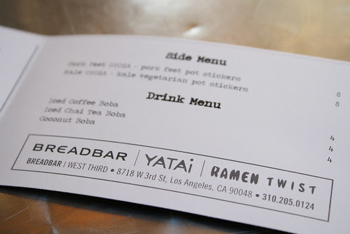 Yatai at Breadbar
