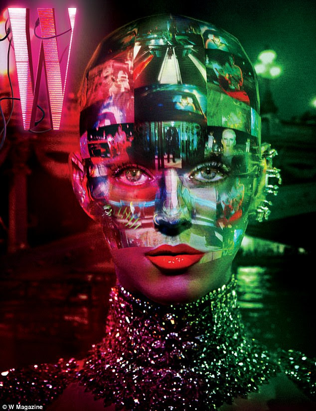More fun... The photos were shot bySteven Klein and include an interactive component with the app