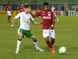 América-RN x Luverdense, no Estádio Nazarenão (Foto: Augusto Gomes/GloboEsporte.com)