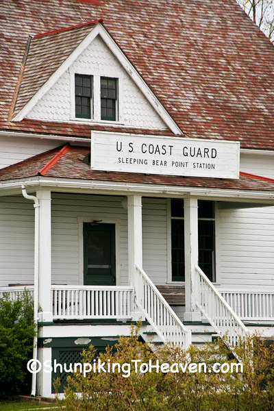 Sleeping Bear Point Life Saving (Coast Guard) Station, 1901, Glen Haven, Michigan