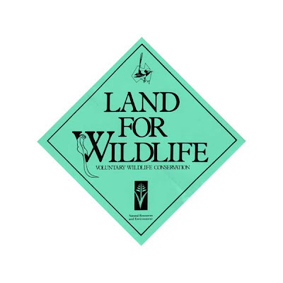 Land for Wildlife sign