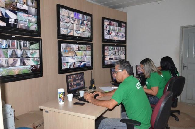 Central de videomonitoramento em sistema penitenciário de São Luís