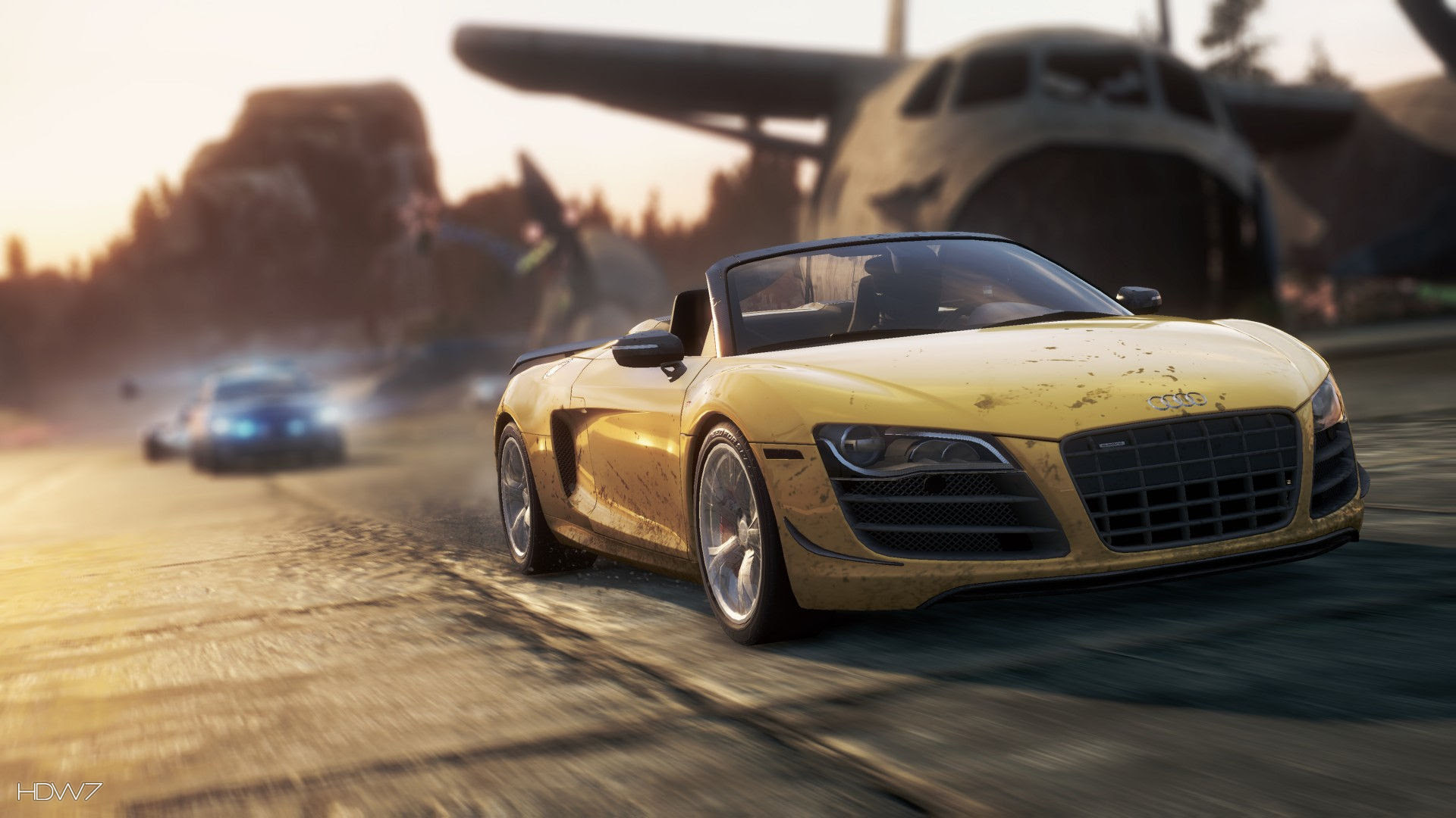 Need For Speed Most Wanted 2012 Audi R8 Gt Spyder Widescreen Hd