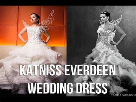 Katniss Everdeen Wedding Dress Cosplay : Behind the Scenes