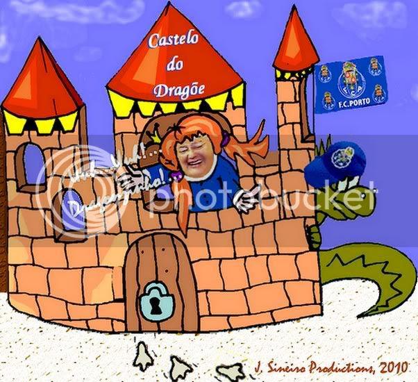 O Castelo do Dragõe by J. Sineiro 2010