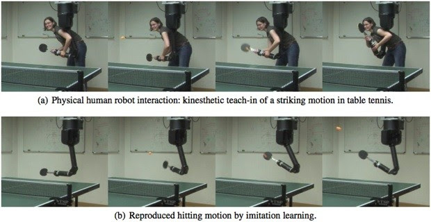 Germans robot arm learns pingpong as it plays, might rival its human masters