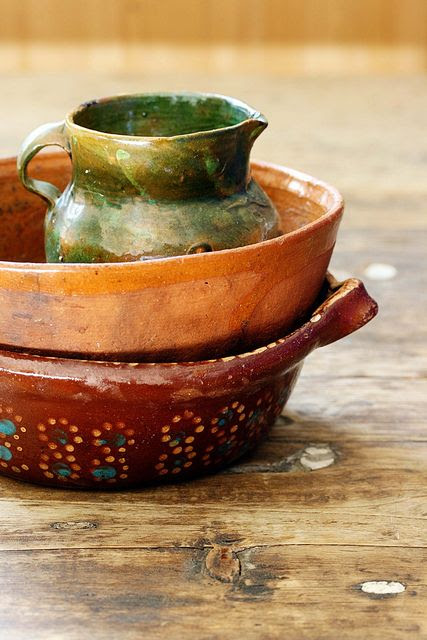 Each time I use a hand crafted vessel, I feel the heart and soul of the artist added like spice to the food I make.