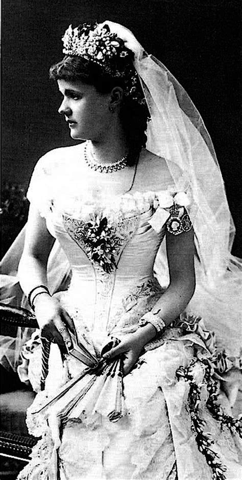 Wedding Dress of Princess Helena of Waldeck and Pyrmont