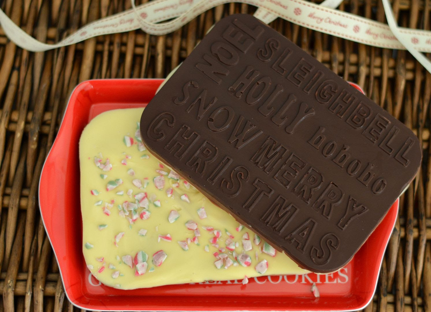 Chocolate Peppermint Bark