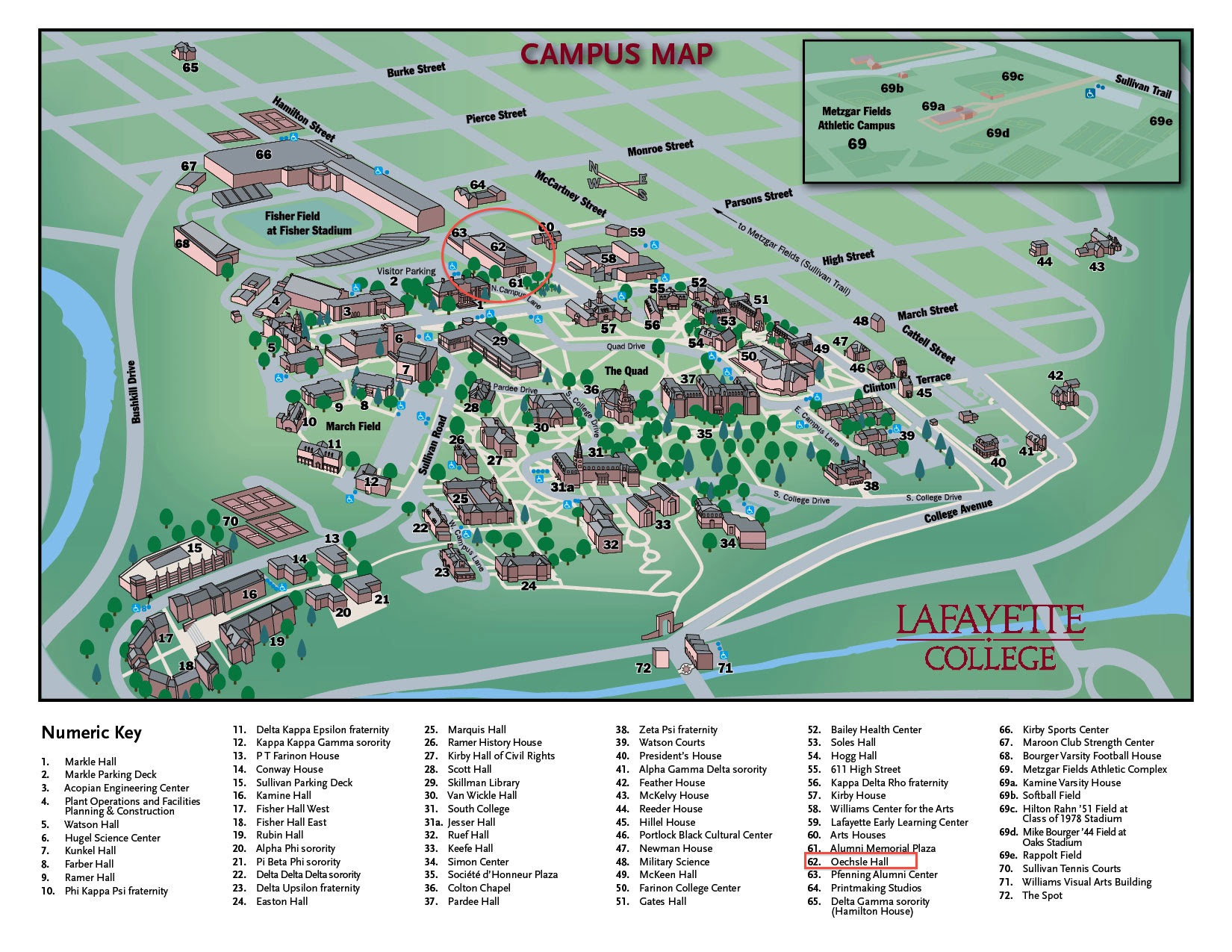University Of Louisiana At Lafayette Campus Map.Lafayette Campus Map World Map Interactive