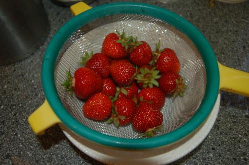 strawberries June 11