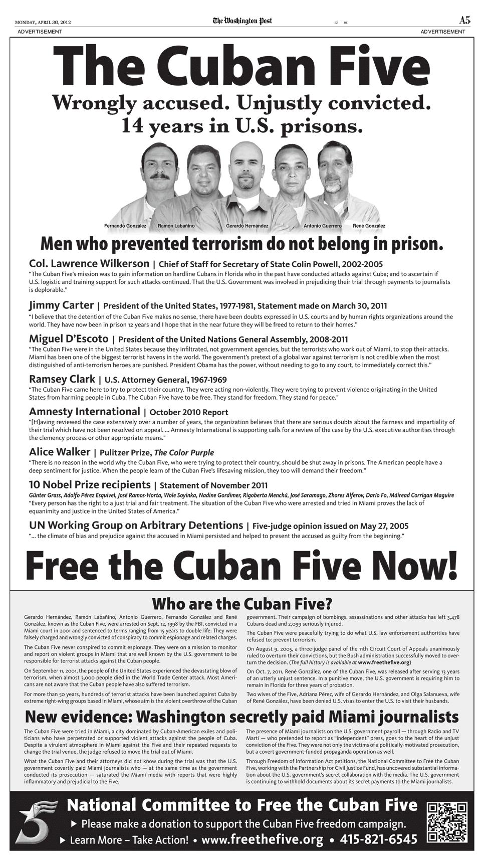 Washington Post ad