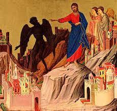 Jesus and devil