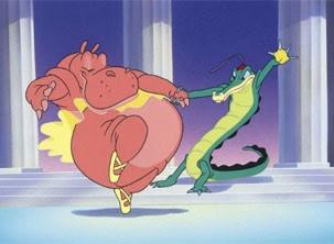 Animais dançam balé na história (Foto: Divulgação / Reprodução)