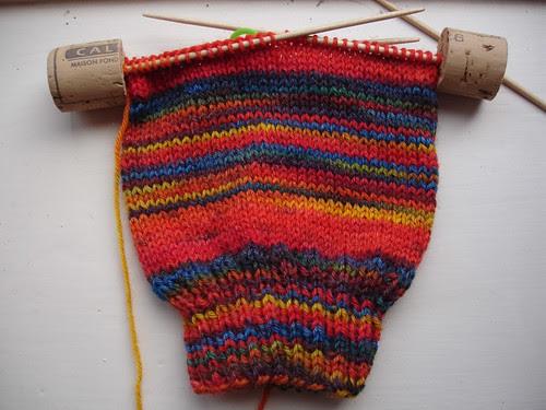 stripy socks for Michael WIP (1)