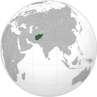 Afghanistan orthographic_projection