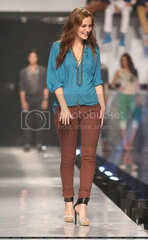 Leighton Meester at Philippine Fashion Week
