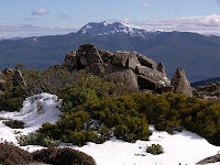 Mt Picton from the slopes of Hartz Peak - 4th August 2008