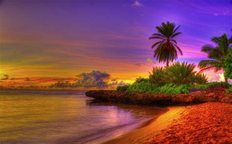 tropical beach desktop wallpaper wallpapertag