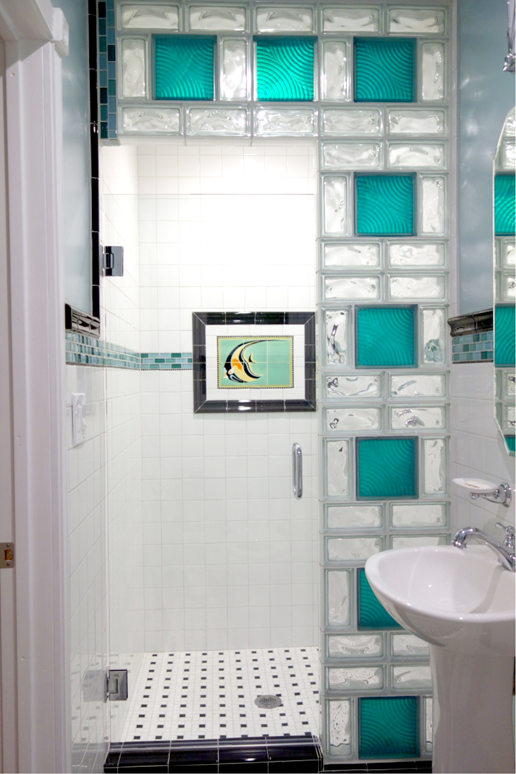 Glass block shower wall installation - 5 mistakes to avoid