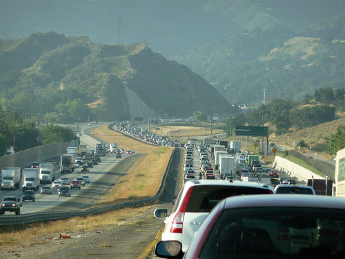 traffic in LA (by: Jeff Turner, creative commons license)
