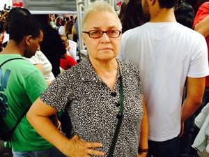 Maria Amélia de Almeida Teles, torturada no DOI-Codi (Foto: Márcio Pinho/G1)