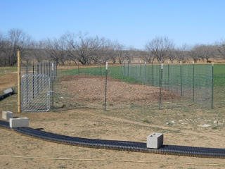 Garden 2 Fencing Up