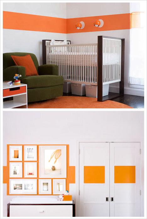 Orange & White Nursery