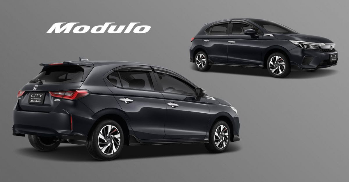 2021 Honda City Hatchback with Modulo accessories ...