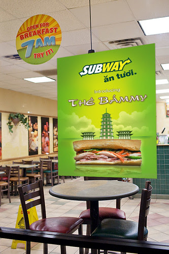 Subway Bammy Vietnamese Sandwich