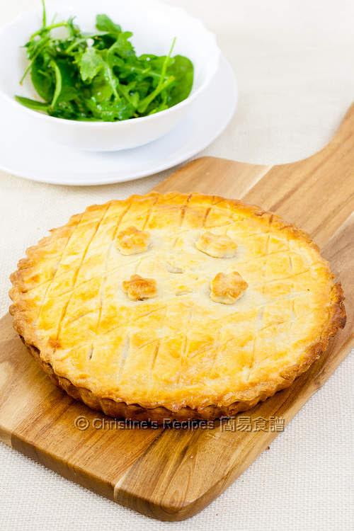 蘑菇雞肉批 Mushroom Chicken Pie01