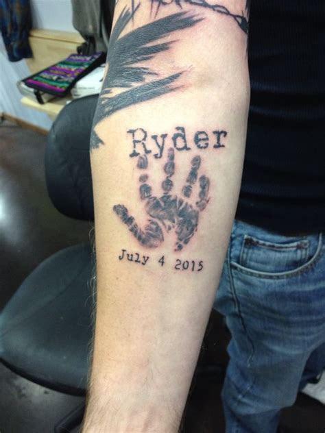 boy handprinttattoo hand print tattoos tattoo