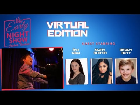 The Early Night Show With Joshua Turchin (Ava Ulloa, Swayam Bhatia, Brody Bett)
