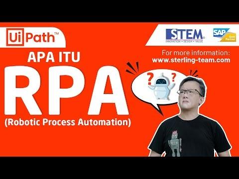 Mengenal Otomatisasi Proses Robotik atau Robotic Process Automation (RPA)