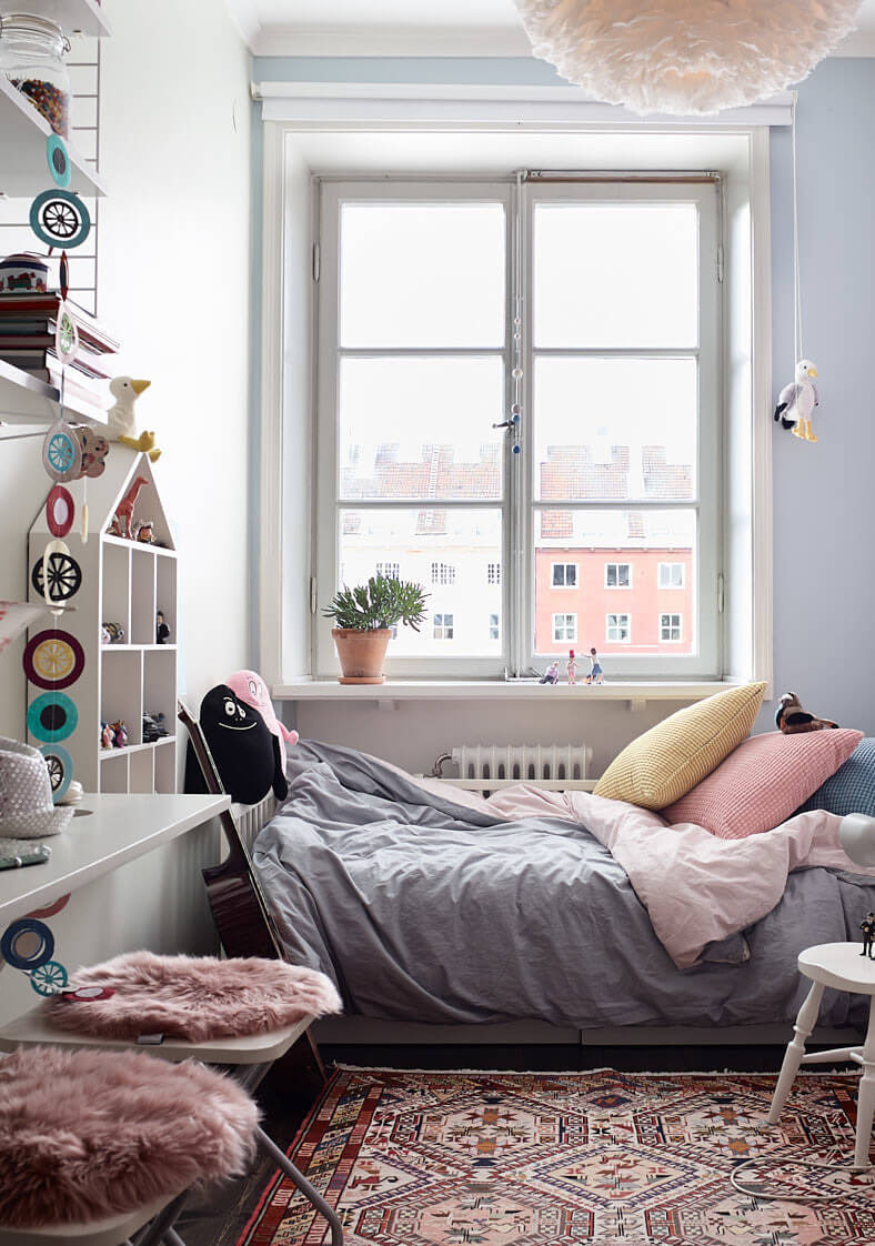 Paul & Paula: A small and cosy family apartment in Stockholm