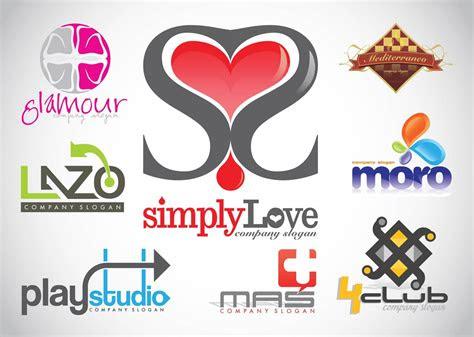 logo design vector footage