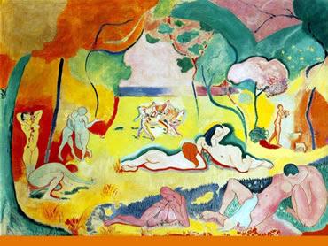 """Fauvismo. """"La Alegría de vivir"""" Matisse"""