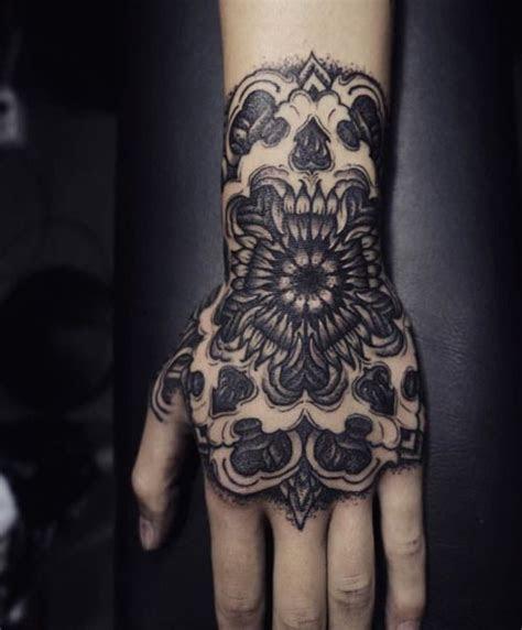 arangeleven kim hand tattoos tattoos skull tattoo