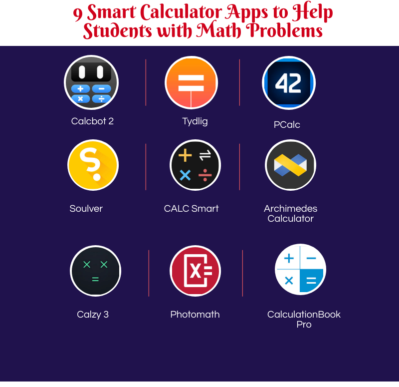9 Smart Calculator Apps to Help Students with Math Problems