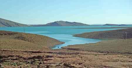 """Résultat de recherche d'images pour """"Le barrage Hassan Addakhil"""""""