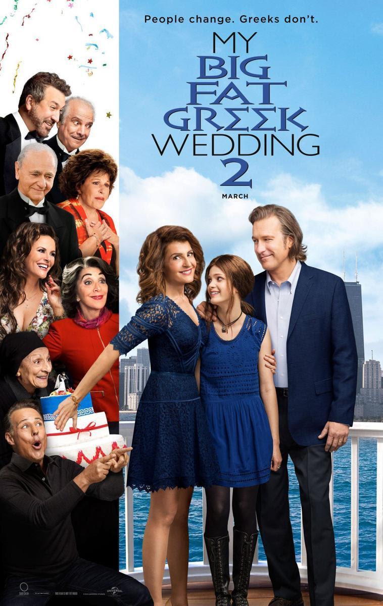 póster mi gran boda griega 2