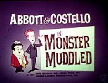 Abbott Costello Hanna-Barbera Monster