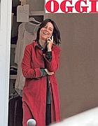 Virginia Saintjust sulla copertina del settimanale «Oggi»