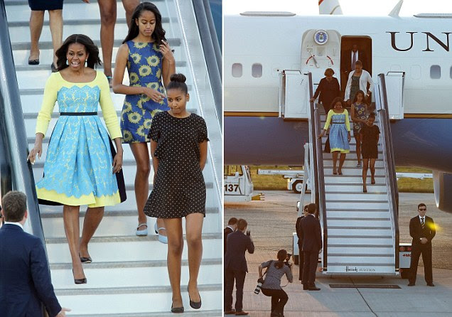 Michelle Obama and daughters Sasha and Malia to meet Prince Harry on Britain tour